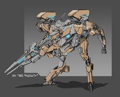 ArtStation - Concept - Robot, Eldar Safin