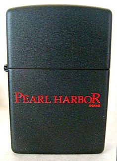 PEARL HARBOR MOVIE PROMO ZIPPO LIGHTER RARE NEW IN BOX. Click on the image for more information.