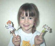 finger puppets - little miss muffet