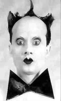 Klaus Nomi is definately an acquired taste, and honestly I still have yet to meet someone in person who is also a fan. It's his combination of classical, new wave and s… Diamanda Galas, Avant Guard, Neck Accessories, Film Music Books, Classic Image, Music Icon, Post Punk, Costume Makeup, Interesting Faces