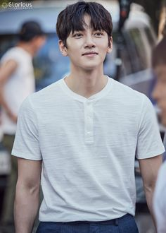 """Ji Chang Wook, June [Drama] Charismatic eyes and rain showers in more behind-scenes from """"Suspicious Partner"""" Ji Chang Wook Smile, Ji Chan Wook, Handsome Korean Actors, Most Handsome Men, Asian Boys, Asian Men, Healer Drama, Ji Chang Wook Photoshoot, K Drama"""