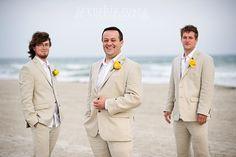 Casual classy beach groom, Atlantic Beach NC wedding by Cynthia Rose Photography
