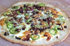 Pizza Night Inspiration: Jalepeno Popper Pizza from @Michele Morales Howard Delicious . #MonthofMeals