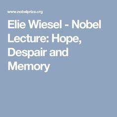 elie wiesel essay prize