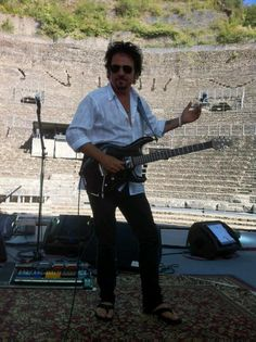 Image result for steve lukather 11/16/17 at NJPAC w/ Ringo Starr's All Star Band