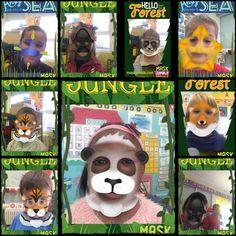 Mask Jumble es una app que a través de la Realidad Aumentada permite que los peques puedan disfrazarse con diferentes máscaras de an...