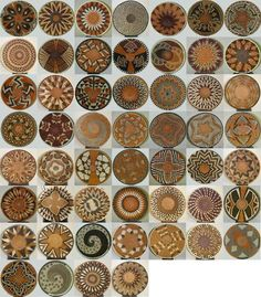 Creative Ideas for Accent Wall Design with Ethnic Wicker Dishes Myriad examples of radial symmetry and balance.Myriad examples of radial symmetry and balance. Ok Design, Pattern Design, African Design, African Art, African Colors, Accent Wall Designs, Basket Weaving, Woven Baskets, Decorative Baskets
