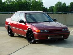 1993 Honda Accord   With A Roof Rack