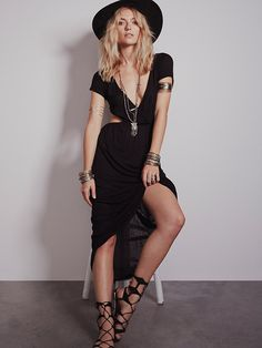 Free People Landslide Cutout Dress, $88.00