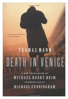 Death in Venice by Thomas Mann  This vastly influential novella follows a German man who falls in love with a young Venetian boy while vacationing in Italy, sacrificing his health to admire the young man from afar.