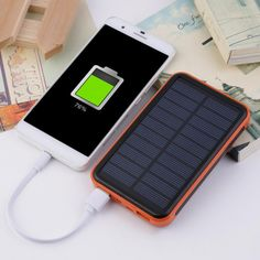 Cheap charger solar, Buy Quality solar mobile phone directly from China solar phone Suppliers: Super Thin Large Capacity Waterproof Portable Solar Power Bank Dual USB Solar Charger For Mobile Phones For Iphone Small Solar Panels, Solar Panel Cost, Solar Panels For Home, Best Solar Panels, Solar Panel System, Solar Power Energy, Portable Solar Power, Solar Battery Charger, Usb