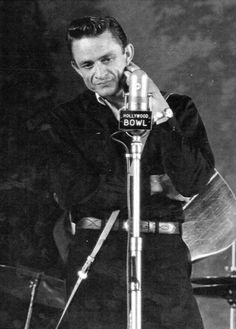 Johnny Cash at the Hollywood Bowl June 22, 1963. S)