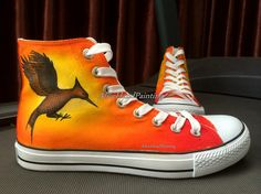 Converse Custom from the brand converse shoes has come from very far from Massachusetts, previously Cool Converse, Yellow Converse, Converse Tennis Shoes, Painted Converse, Converse Sneakers, Converse All Star, Custom Painted Shoes, Hand Painted Shoes, Custom Shoes