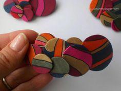 Diario di una Creamamma: #Spille in #tetrapak e tessuto riciclato