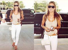 <3 White pants