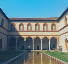 Milano I Castello Sforzesco
