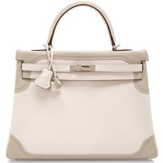Pre-owned Hermes Satchel ($29,751) ❤ liked on Polyvore featuring bags, handbags, apparel & accessories, satchels, wallets & cases, leather handbags, pink leather purse, leather satchel handbags, satchel purse and pink leather handbag