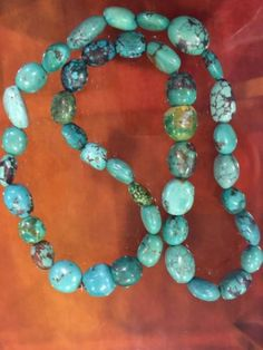 JAY-KING-GREEN-TURQUOISE-BEADED-NECKLACE-Sterling-Heart