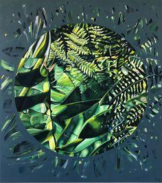 Claudia Gurwitz: Ingress: fine art | StateoftheART South African Art, Living Room Green, Office Art, Canvas Size, Original Artwork, Plant Leaves, Abstract, Gallery, Artist
