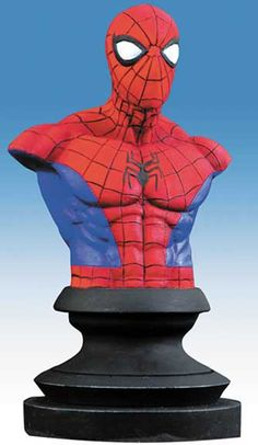#Spiderman #Comic #Figuras #Bustos #VerticeComics