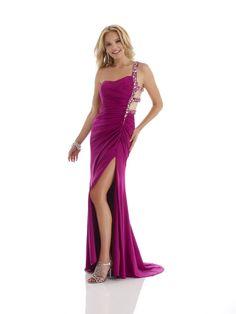 satin sheath evening dresses