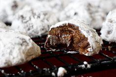 Chocolate Truffle Cookies by whatmegansmaking #Cookies #Chocolate_Truffle