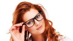Women, Redhead, Face, Glasses, Blue Eyes, Juicy Lips