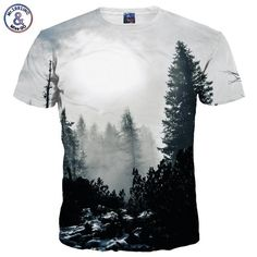 His Winter Forest Trees T-shirts