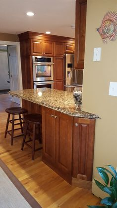 Custom Kitchen Designed By JB Kitchens. Diamond Cabinets, Sullivan Full  Overlay Door Style,