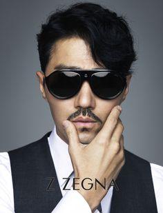 Cha Seung Won Z Zegna Eyewear Spring 2015 Ad