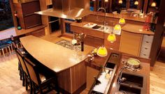 Contemporary Sapele | Crystal Cabinets