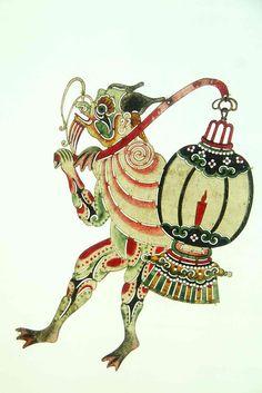 See asian porcelain figurine symbols