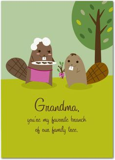 Favorite Branch - Mother's Day Greeting Cards in Pistachio | Magnolia Press