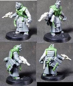 Inquisitor acolyte finished sculpt