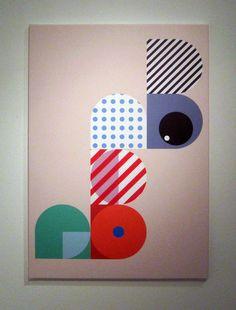 "Saatchi Art Artist: Sito Schwarzenberger; Acrylic 2012 Painting ""BB-Boing"""