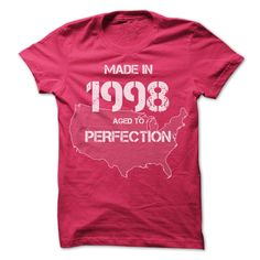 USA Made In 1998 Tshirts T-Shirts, Hoodies. Check Price Now ==►…
