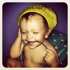 Hippy baby, this is too cute <3