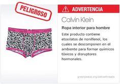 Calvin Klein Ropa interior   #Detox #Fashion