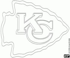 kc chiefs coloring pages - photo#24