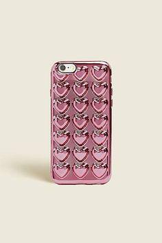 Metallic Hearts iPhone 6S Case