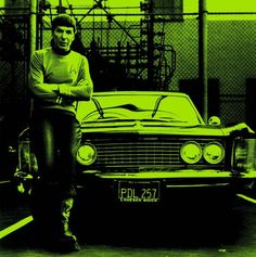 Spock Leonard Nimoy photograph print cool poster Star Trek Trekkie gift wall decor black and white vintage photo Buick car pop art Pop Art Posters, Cool Posters, Poster Prints, Art Print, Vintage Photographs, Vintage Images, Professional Poster, Star Trek Spock
