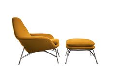 Prince chair and pouf by Rodolfo Dordoni