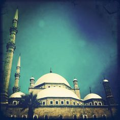 The Mosque of Muhammad Ali Pasha, Citadel, Cairo, Egypt