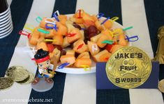 Jake and the Neverland Pirates Party Food - events to CELEBRATE!