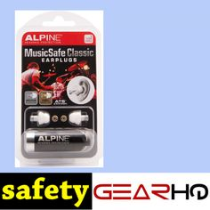 Alpine Hearing Protection MusicSafe Classic Earplugs for Musicians Check more at http://www.safetygearhq.com/product/personal-safety/ear-protection/alpine-hearing-protection-musicsafe-classic-earplugs-for-musicians/