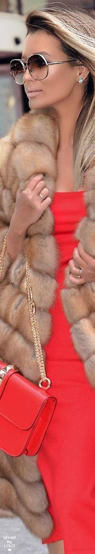 Street Chic in Faux Fur