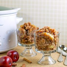 Apple Dapple Pudding--slow cooker. I am so going to try this it's Fall food!