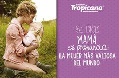 Se dice: #mamá  Se pronuncia: La #mujer más valiosa del mundo #Calzado #Tropicana #amor #madre #hija
