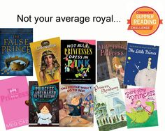 This week, we're reading about some awesome (and definitely not typical) royalty! Check them out and don't forget to log your reading minutes at Scholastic.com/summer! #summerreading