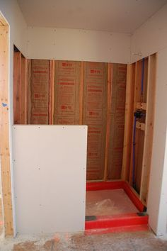 DIY Walk-in shower *tons of other DIY projects like building your own house for